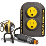 Stanley FatMax 140W Power Inverter with Bonus Keychain LED Light - Shopatronics