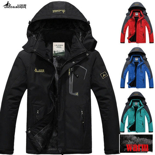 jaqueta masculina thick Outdoor sport jacket ,Winter Jacket Men, Windproof Hood parka mens jackets and coats outwear Windbreak - Shopatronics - One Stop Shop. Find the Best Selling Products Online Today