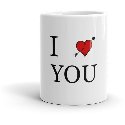 I Love You - Mugs by Shopatronics - Shopatronics
