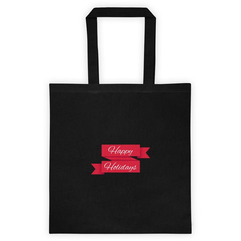 Happy Holidays - Tote bag by Shopatronics - Shopatronics - One Stop Shop. Find the Best Selling Products Online Today