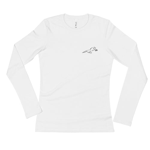 Ladies' Long Sleeve T-Shirt by Shopatronics - Shopatronics