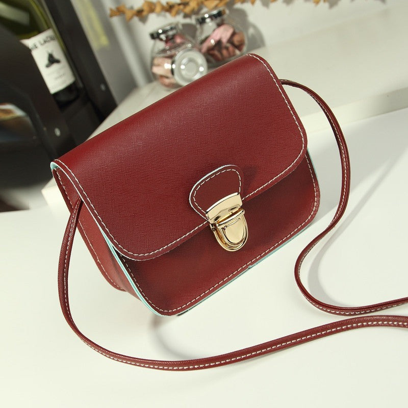 8a95d3532bc4 new casual small leather flap handbags high quality hotsale ladies party  purse clutches women crossbody shoulder