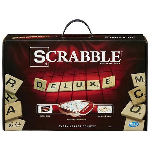 Scrabble Deluxe Edition Board Game - Shopatronics