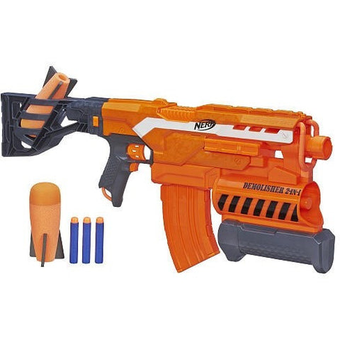NERF N-Strike Elite Demolisher 2-in-1 Blaster - Shopatronics - One Stop Shop. Find the Best Selling Products Online Today
