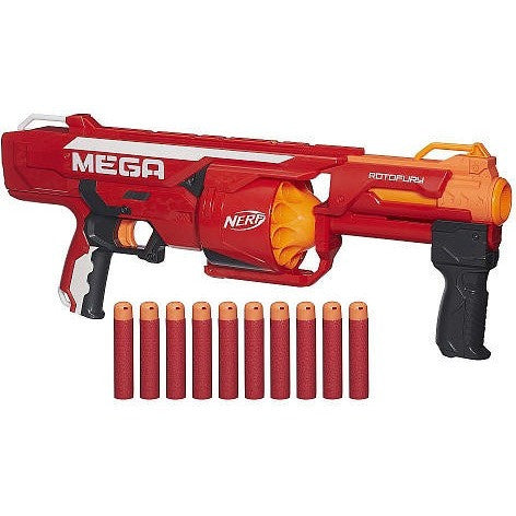 NERF N-Strike Mega Series RotoFury Blaster - Shopatronics - One Stop Shop. Find the Best Selling Products Online Today