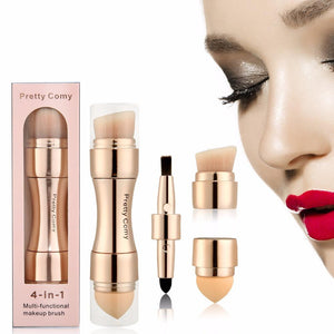 4 in 1 Makeup Brush - SHOPPLEHUB