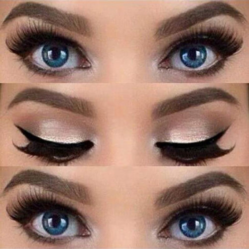 2pcs Winged Eyeliner Stencil - SHOPPLEHUB