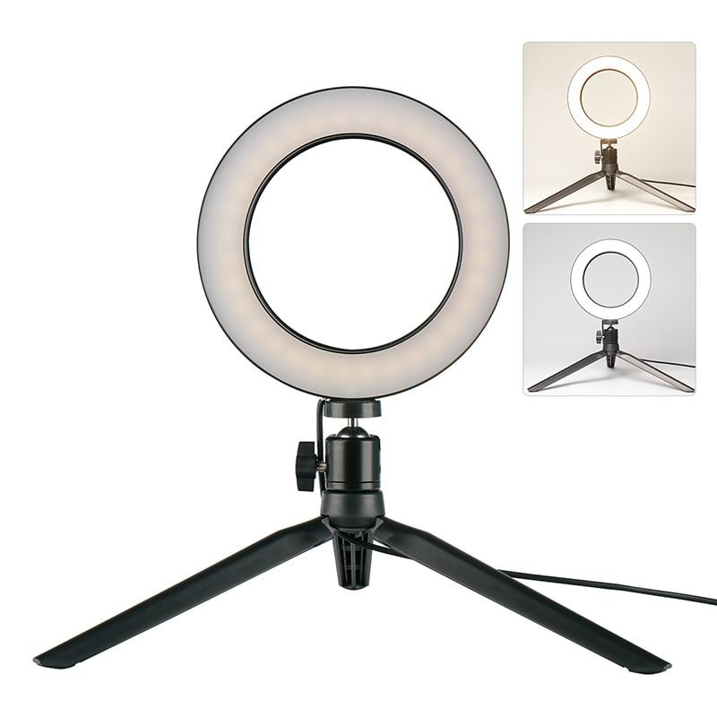 Dimmable LED Ring Light Tripod Selfie Stick - SHOPPLEHUB