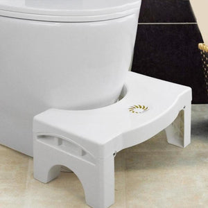 Foldable Non-slip Toilet Footstool Bathroom Squatting Stools