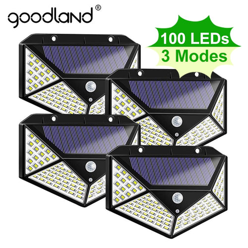 100 LED Solar Light Outdoor Solar Lamp Waterproof