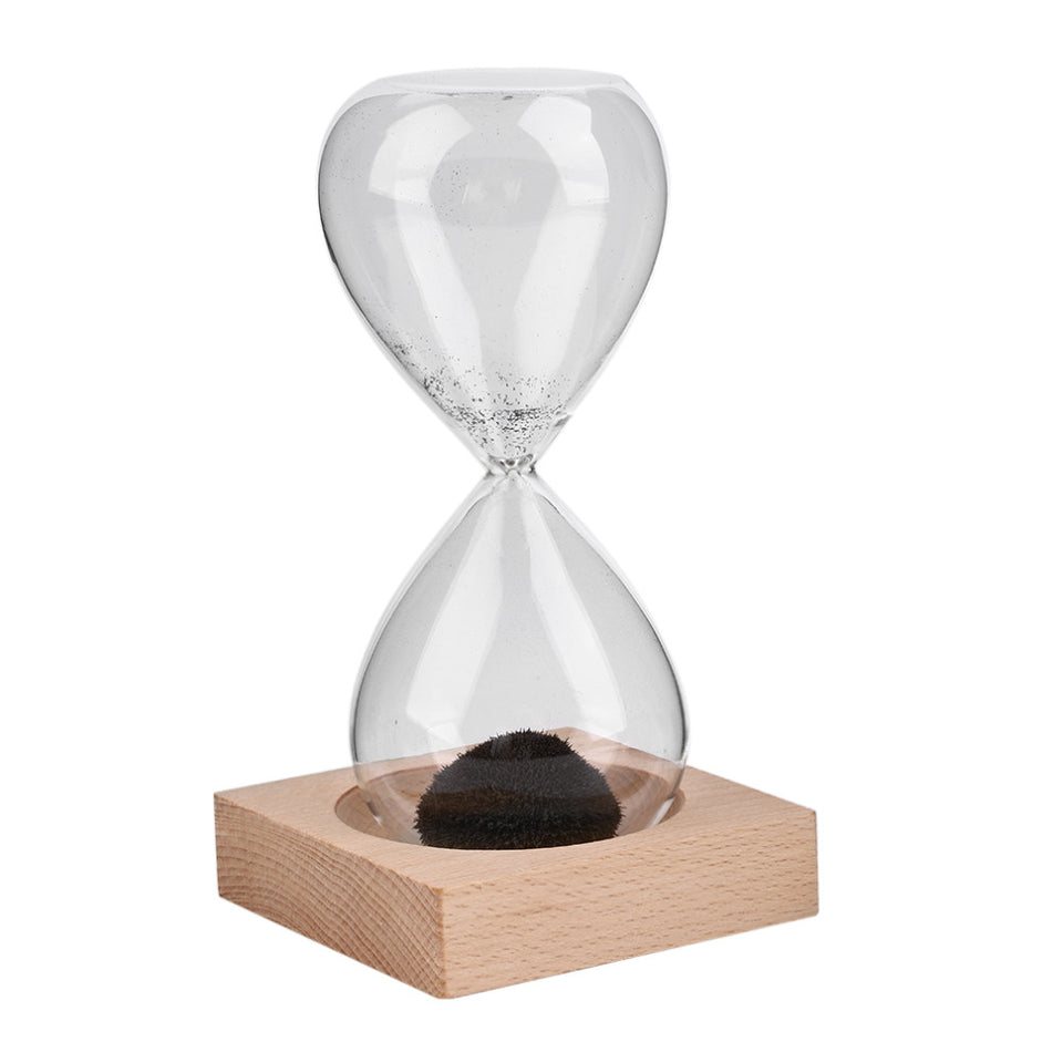 1Pcs Awaglass Hand-blown Timer Clock Magnetic Hourglass Ampulheta Crafts - Shopatronics - One Stop Shop. Find the Best Selling Products Online Today