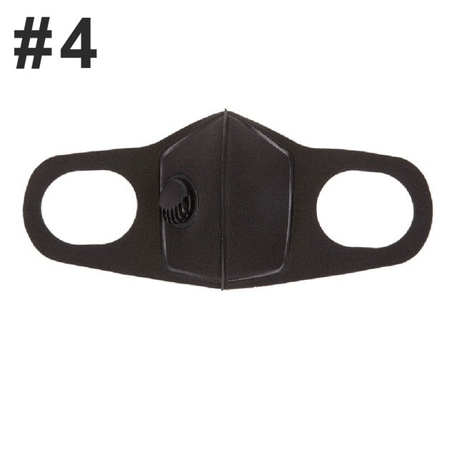 Pollution Mask Military Grade Anti Air Dust and Smoke Pollution Mask with Adjustable Straps