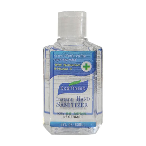 60ml Hand Sanitizer Gel, Anti-Bacterial Waterless Hand Wash Quick Drying