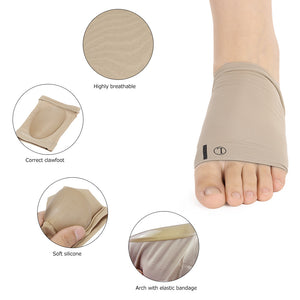 1 Pair Flat Feet Orthotic Plantar Fasciitis Arch Support Sleeve Cushion Pad - FREE International Shipping - Shopatronics - One Stop Shop. Find the Best Selling Products Online Today