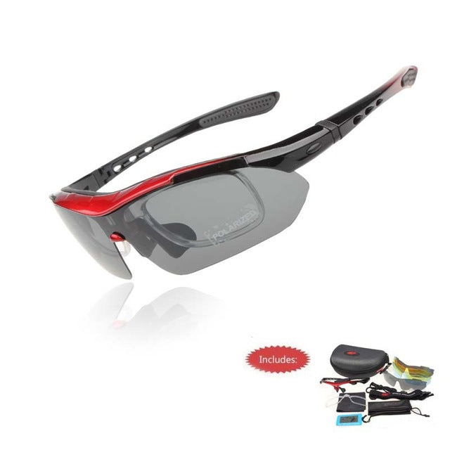 Professional Polarized Cycling Glasses Bike Goggles Outdoor Sports Bicycle Sunglasses - Shopatronics