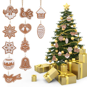 11 PCS Cartoon Animal Snowflake Biscuits Hanging Christmas Tree Ornament [BUY 1 GET 1 FREE + FREE SHIPPING] - Shopatronics - One Stop Shop. Find the Best Selling Products Online Today