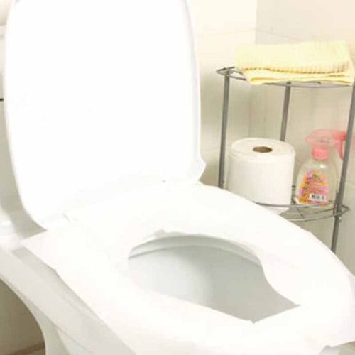 10Pcs/lot Travel Disposable Toilet Seat Cover 100% Waterproof