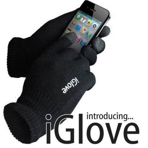 Screen Touched Gloves Unisex for iphone/ipad 3-finger Touched Screen Glove - Shopatronics