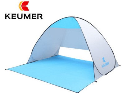 Automatic Beach Tent UV Protection Pop up Tent Sun Shade Awning with Mat - Shopatronics - One Stop Shop. Find the Best Selling Products Online Today