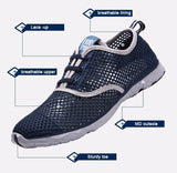 New Breathable Casual Shoes Comfortable Soft Walking Shoes Lightweight Outdoor Travel Shoes - Shopatronics