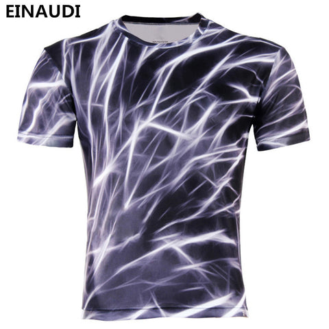 Men Fashion 3D Animal Creative T-Shirt