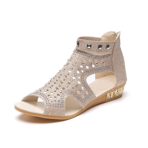 Casual Rome Summer Shoes Fashion Rivet Gladiator Sandals - Shopatronics - One Stop Shop. Find the Best Selling Products Online Today
