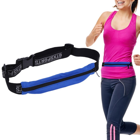 Running Waist Pack Zip Hip Belt Jogging Riding