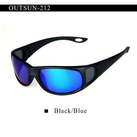 Fashion Flexible Sunglasses Men Polarized Lens Brand Designer Polaroid Fish Glasses - Shopatronics