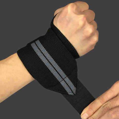 2 pieces Adjustable Wristband Elastic Wrist Wraps Bandages for Weightlifting Powerlifting - Shopatronics - One Stop Shop. Find the Best Selling Products Online Today