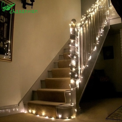 Romantic 10M 100 Pcs LED Strip Light New Year Decoration Christmas Decoration - Shopatronics