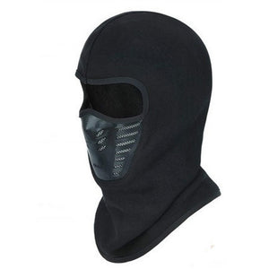 Winter Warm Full Face Cover Thermal Fleece Lined Windproof Anti Dust Ski Mask - Shopatronics