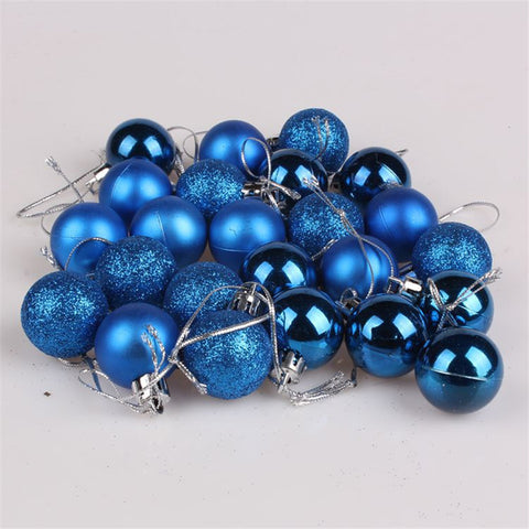 CHASANWAN 24Pcs 3cm 4cm Christmas Tree Decor Ball - Shopatronics - One Stop Shop. Find the Best Selling Products Online Today