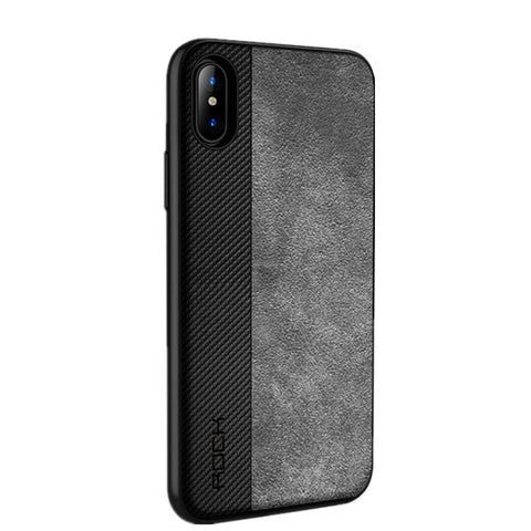 Rock Slim Case for iPhone X Cover Full Protective Phone Shell Back - Shopatronics