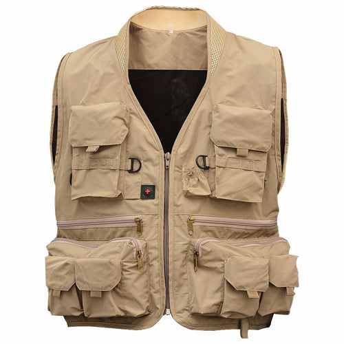 Lumiparty Fishing Hunting Vests Daiwa Vest For Fly Fishing Vests Clothing Multi-pocket Jackets Colete Pesca Fishing Jacket Vest - Shopatronics