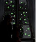 1PC Christmas Snowflake Luminous Removable Wall Window Stickers Free 2-7 Day Shipping - Shopatronics - One Stop Shop. Find the Best Selling Products Online Today