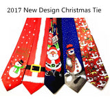 New Design Christmas Tie 9.5cm Style Men's Fashion Neckties - Shopatronics