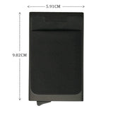 Antitheft Rfid Wallets Aluminum Rfid Blocking Slim Mini Wallet Automatic Card Holder Metal Credit Card Case Protector - Shopatronics - One Stop Shop. Find the Best Selling Products Online Today