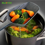 Black Cooking Shovels Vegetable Strainer Scoop Nylon Spoon - Shopatronics - One Stop Shop. Find the Best Selling Products Online Today