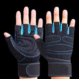 Fitness Gym Outdoor Sports Hot Sale Motorcycle Gloves Unisex Guantes Half Finger Green Black Quality Breathable Tactical Gloves - Shopatronics
