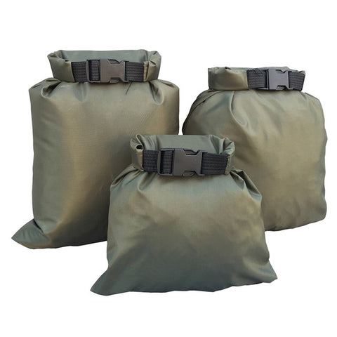 Coated silicone fabric pressure waterproof dry  bag  Storage Pouch Rafting Canoeing Boating dry bag 3 Pcs - Shopatronics - One Stop Shop. Find the Best Selling Products Online Today