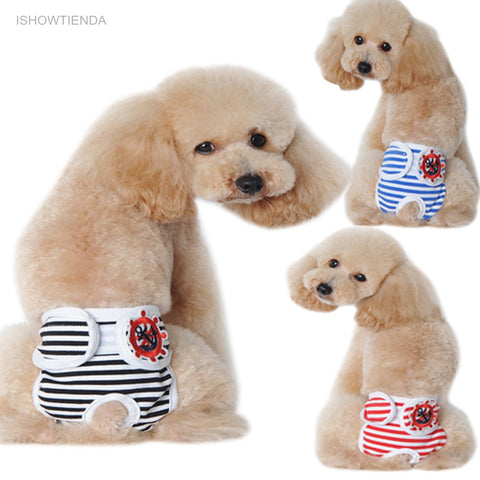 New Cute Pet Dog Physiological Pants Panty Free 2-7 Day Shipping