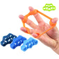 Finger resistance bands rubber bands Training Stretch exercise elastic band - Shopatronics