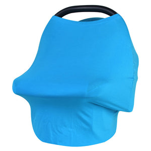 New Baby Car Seat Cover Toddler Nursing Cover Multi-Use Stretchy Scarf