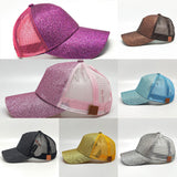 2018 Glitter CC Paardenstaart Baseball Cap Rommelige Knot Zomer Mesh Caps - Shopatronics - One Stop Shop. Find the Best Selling Products Online Today