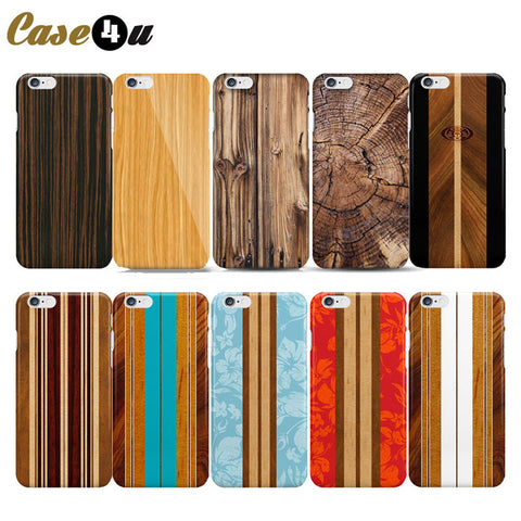 New Innovation Wood Madera Pattern Phone Case For Capinhas iPhone 6 6s