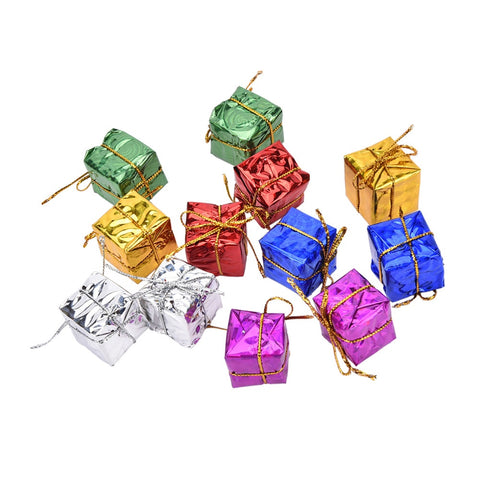 12pcs Mini Gift Boxes Shape Tree Ornament Christmas Hanging Decoration Free 2-7 Day Shipping - Shopatronics - One Stop Shop. Find the Best Selling Products Online Today