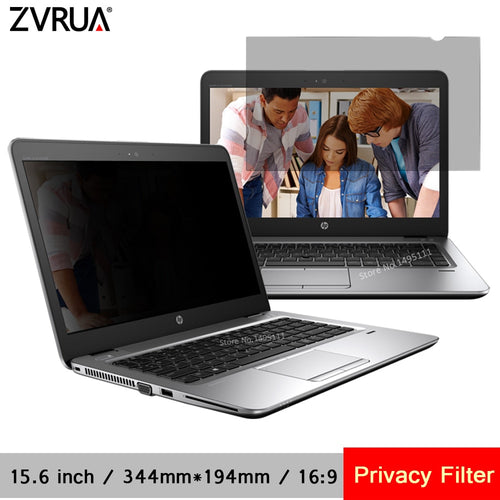 15.6 inch (344mm*194mm) Privacy Filter For 16:9 Laptop Notebook Anti-glare Protective Film