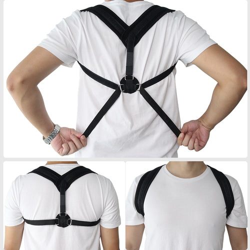 Posture Corrector Shoulder Corset Back Orthopedic Brace Belt for Men/Women Free 2-7 Day Shipping