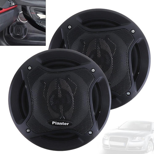 "2pcs  6.5"" 400W Car HiFi Coaxial Speaker Vehicle Door - SHOPPLEHUB"