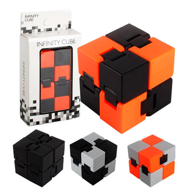 Creative Infinite Cube Office Flip Cubic Puzzle Anti Stress Reliever Autism Toys